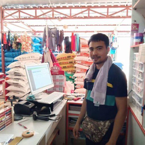 ระบบPOS ครบชุด พร้อมอุปกรณ์ครบ ขอบคุณลูกค้า #ร้านขายปุ๋ย ที่อุดหนุนครับ